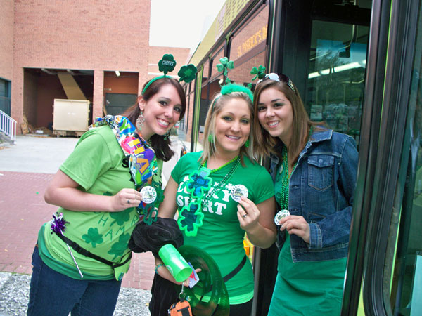 St. Patrick's Day Shuttle